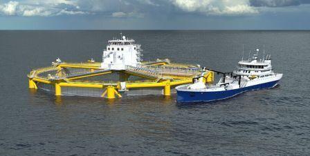 武船集团再获五座挪威深海渔场订单